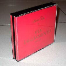 2 Cd RENATO ZERO Via Tagliamento 1965-1970 Zeromania prima edizione box doppio
