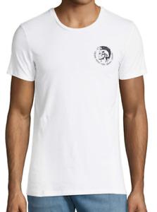 [BIG SALE] Diesel Randal Cotton T-Shirt Color: White Size: M