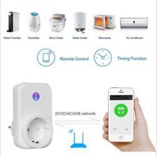 EU Plug Wifi Smart Plug Wireless Voice Control Outlet Timer Wall Socket Switch