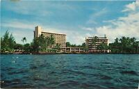 Hilo Hawaii~Ship's Eye View Naniloa Hotel~1965 Postcard
