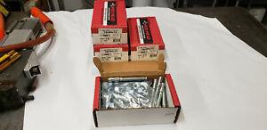 """100-Piece  Red Head WS-1242 Trubolt  1/2"""" x 4-1/4"""" Wedge Anchor.   NEW shelf 70"""