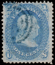 United States Scott 63 (1861) Used F, CV $45.00 C