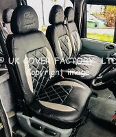 FORD TRANSIT MK6 MK7  Van Seat Cover NEW SILVER Bentley  MADE TO MEASURE A21