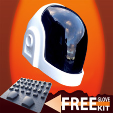 Daft Punk Helmet replica VISOR AND FREE GLOVE KIT INCLUDED 2018 MODEL
