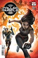Fallen Angels #4 Dx Marvel Comics Bryan Edward Hill