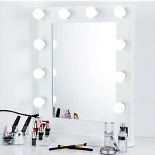 Vanity LED Mirror Light Kit with 10 LED Bulbs Dimmable Smart Memory Lamp with Re