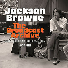 JACKSON BROWNE New Sealed 2018 LIVE 70s, 80s, & 90s CONCERTS 4 CD BOXSET