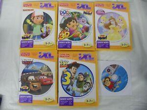 Fisher-Price iXL Handy Manny Dora Disney Cars Princess Toy Story Plus 6 DVD Lot