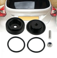 CNC Rear Wiper Delete Kit Block Off Plug Cap Black Aluminum For Honda Acura