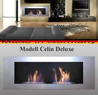 FIRE PLACE CELIN DELUXE WALL FIREPLACE BIO ETHANOL GEL CHEMINEE HEATTER
