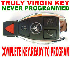 VIRGIN SMART KEY FOR MERCEDES BENZ BRAND NEW CHIP REMOTE ALARM EIS NEVER USED
