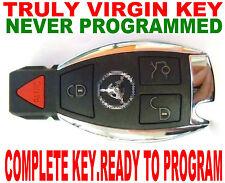 TRULY NEW VIRGIN NEVER CODED SMART KEY FOR MERCEDES BENZ CHIP REMOTE TRANSPONDER