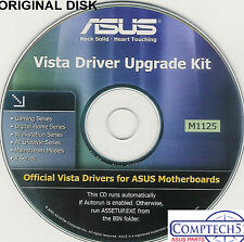 ASUS GENUINE VINTAGE ORIGINAL DISK FOR  Motherboards upgrade to VISTA M1125