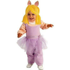 NEW Infant The Muppets - Miss Piggy Halloween Costume Size 6-12 Months