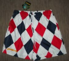 LOUDMOUTH Golf DIXIE Bathing Suit SWIMSuit TRUNKS w/ Mesh Liner mens SMALL  NEW