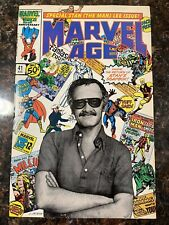 1986 MARVEL AGE # 41 Stan Lee Issue with Photo Cover, Unread VF / 8.0 at CGC