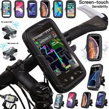 360 Bicycle Bike Waterproof Phone Case Cover Mount Holder For Mobile Cell Phone
