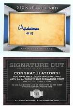 Aramis Ademan CERTIFIED AUTO Card 1/1 Chicago Cubs