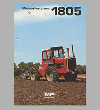 Massey Ferguson MF 1805  Knicklenker Allradschlepper 210 PS Original 1976
