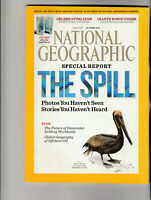 NATIONAL GEOGRAPHIC Magazine October 2010 - The Spill & Free Gulf Of Mexico Map