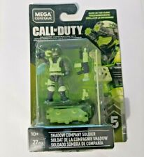 CALL OF DUTY SHADOW COMPANY SOLDIER GLOW DARK GFW73 Series 5 MEGA CONSTRUX S8/8