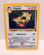 Pidgeot 8/64 1999 Jungle Set 1st Edition Holo LP Holographic Pokemon Card