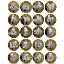 34pcs Sex 6 Euro Coins Different Design Kama Sutra Position Hard Commemorative