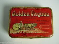 Blechdose Golden Virginia Wilh. Ermeler & Co. Berlin 2 Tabakdose Jugendstil 1900