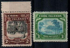 Cook Islands Scott 123-4 Mint NH