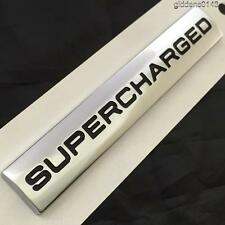 SUPERCHARGED BADGE GENUINE LAND ROVER REAR BOOT BADGE EMBLEM**NEW OUT**