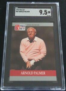 1990 Pro Set PGA Tour Golf Arnold Palmer #80 SGC 9.5 MINT+