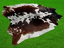 """New Cowhide Rugs Area Cow Skin Leather 24.97 sq.feet (62""""x58"""") Cow hide A-5539"""