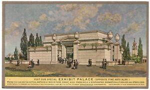 Exhibit Palace Carnation Milk Condensery Exposition San Francisco Postcard 1915