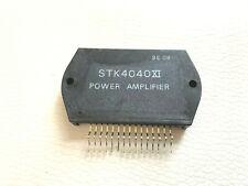 STK4040XI AF Power Amplifier + Heat Sink Compound Original SANYO LOT OF 2