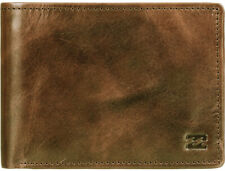 Billabong Vacant Leather Wallet in Tan