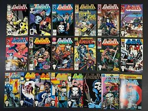 Run of (20) The Punisher (1987-93) #2-75 + Annuals Marvel Comics Others Listed