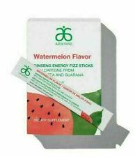 Arbonne x10 Watermelon Flavour Ginseng Energy Fizz Sticks Satches Free Uk Post