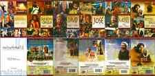 6 DVD SET Historia De Moises Jose Abraham David Sanson &Dalila Peter Y Paul NEW