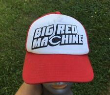 Cincinnati Reds Big Red Machine Truckers Snap Back Hat Mesh Ball Cap MLB