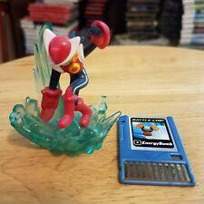 Mattel Megaman NT Warrior ProtoSoul Figure with Energy Bomb Battle Chip