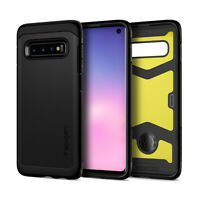 Galaxy S10, S10 Plus, S10e | Spigen® [Tough Armor XP] Black Protective Case