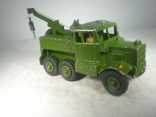 Dinky Toys Military Army Scammel Recovery #661 EXCELLENT