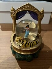 More details for disney jasmine and rajah snow globe aladdin vintage ornament figure tiger read