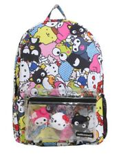 HELLO SANRIO ALLOVER CHARACTER BACKPACK hello kitty NEW WITH TAG!!