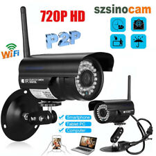 Wireless 720P HD WIFI IP Network Camera CCTV WLAN Outdoor Security IR Night P2P