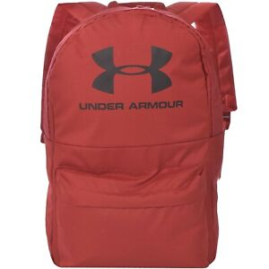 Under Armour UA Unisex Loudon Two Strap School College Backpack - Red