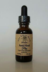 The Elder Herb Shoppe Antiviral Plus Drops 1 oz - Alcohol Free Colloidal Silver