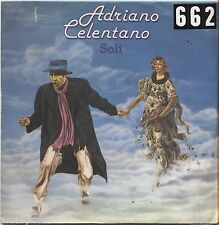 """ADRIANO CELENTANO - Soli - VINYL 7"""" 45 LP 1979 VG+/VG- CONDITION"""