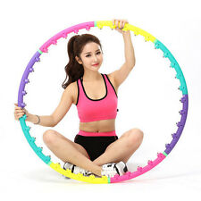Magnetic Health Hoola Hula Hoop Weighted Exercise Massage Ball Abdominal Fitness