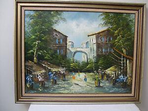 Framed Paintings in Acrylic / Oil   ..  European setting  70 cm x 54 cm